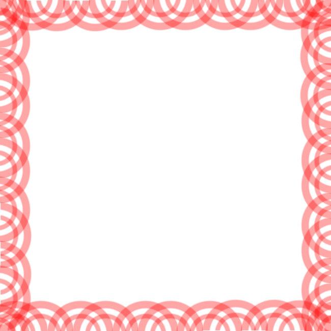 花边 边框像框 边框矢量图 边框总汇 樱桃边框 水果 红色 简单可爱