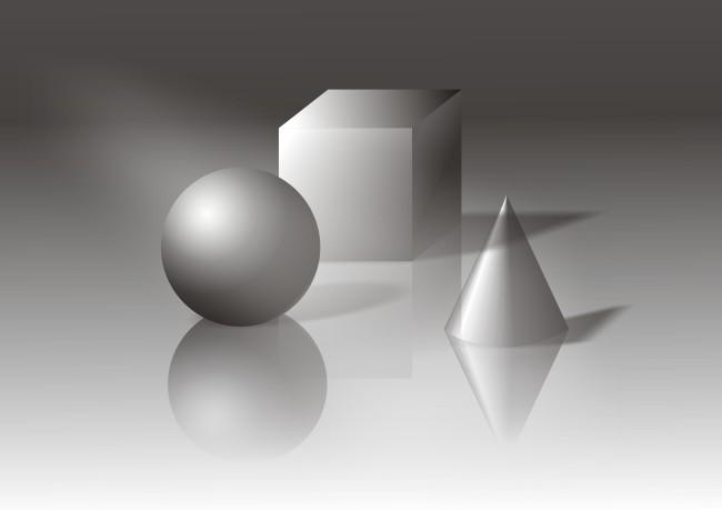【cdr】素描几何图形图片