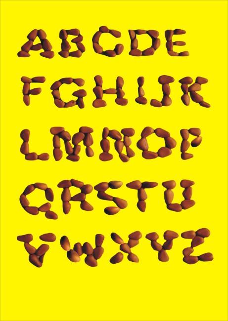【cdr】24个英文字母设计