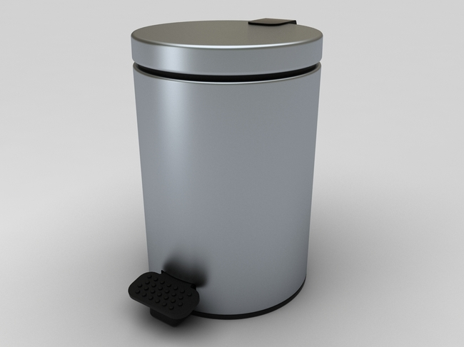 【max】垃圾桶3d模型_图片编号:wli11810894