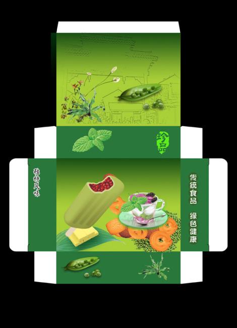 食品包装 > 绿色植物制品-包装盒  关键词: 包装设计 包装系列 精品盒