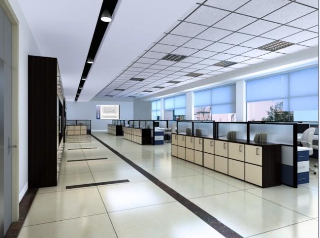 室内设计3d素材 办公室设计效果图 说明:办公室3d室内模型模版下载