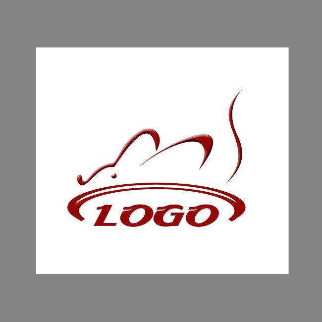 it行业logo > 网站logo模板下载  关键词: 红色 老鼠 网站 logo 模板