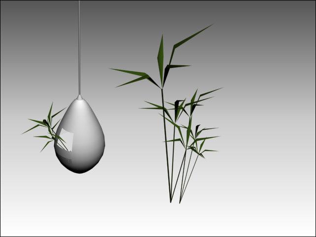 【max】3d素材 3d家居用品_图片编号:wli1111749_植物