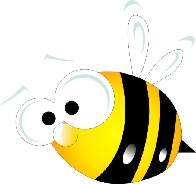 蜜蜂 蜜蜂采蜜 可爱蜜蜂 矢量蜜蜂 cdr格式 卡通蜜蜂 说明:可爱蜜蜂