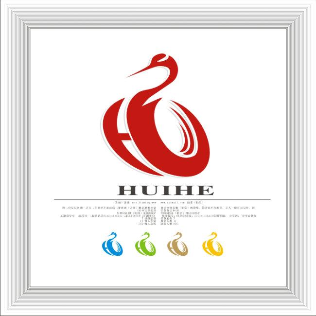 字母h变形 logo设计 金融保险字母h变形 logo设计 矢量文件下载 说明