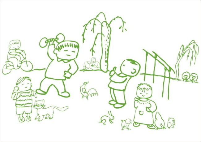 关键词:小孩子公园晨运-手绘画 手工画 白描画 素描画 美术画 简写画 简笔画 钢笔画 线条画 手描画 插画 学生 同学 运动 锻炼身体 公鸡 小女孩 小男孩 男孩子 柳树 树木 小树 宠物 母鸡 骑单车 骑自行车 小鸡 小猫 小兔子 双杆 草地 卡通人物 人物形象 卡通动物 动物形象 说明:小孩子公园晨运-手绘画