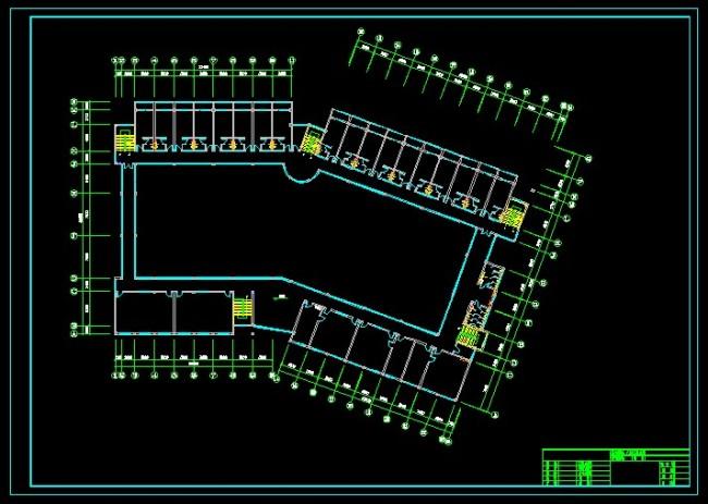 CAD平面图