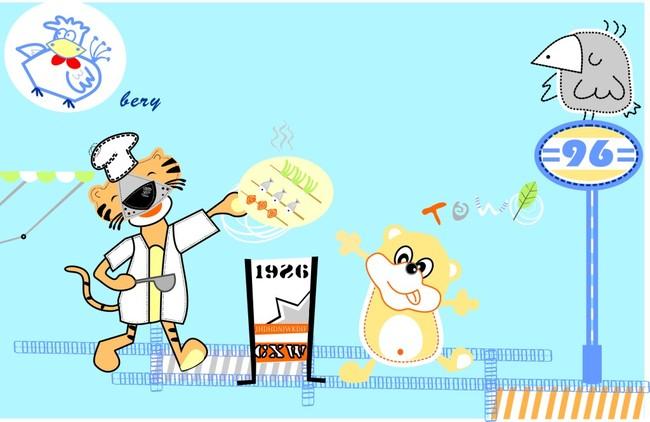 动物cdr模板 卡通cdr图片
