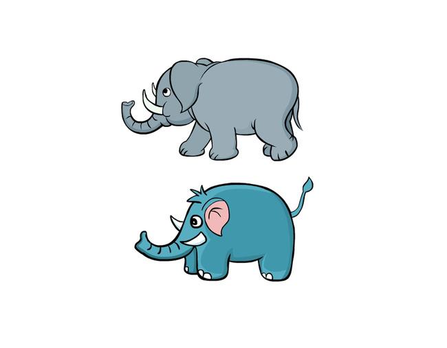 六一儿童节素材 q版 小动物 矢量 说明:卡通大象矢量图 分享到:qq空间