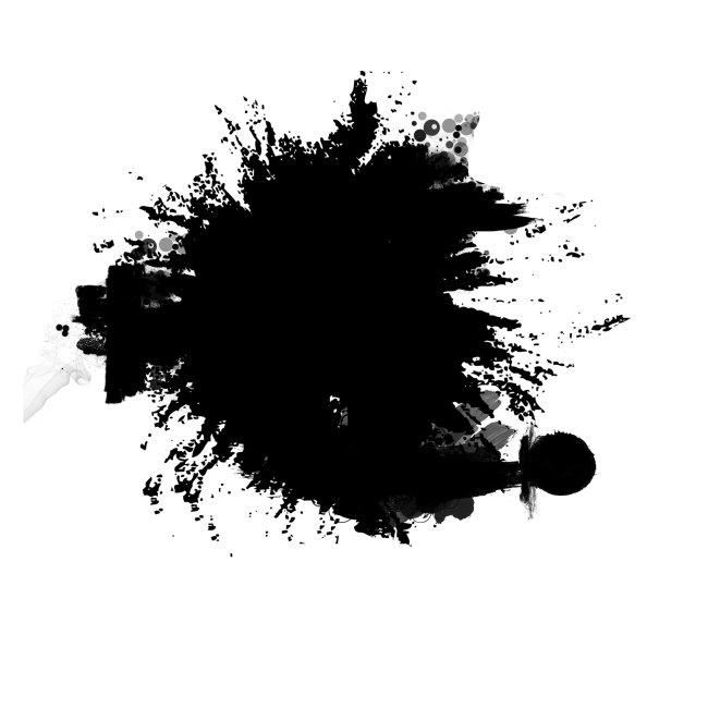 【psd】水墨 墨迹_图片编号:wli1074700_笔触|墨迹