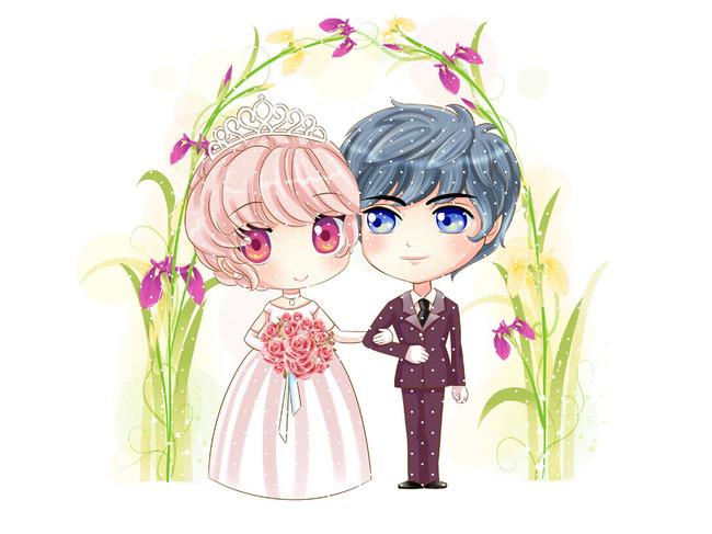 原创专区 > 可爱结婚卡通小人  关键词: 结婚 婚礼 q版 漫画 动漫