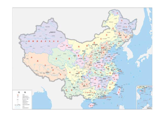 其它模板 其他模板 > 中国地图设计  关键词: 中国地图 全图 省级城市