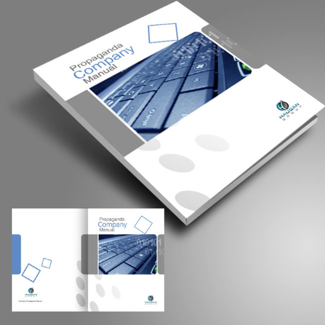 【psd】产品画册封面设计
