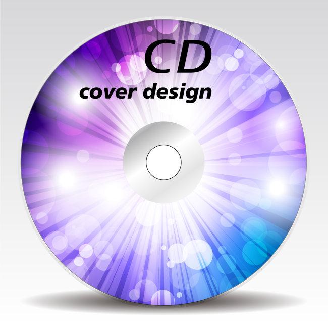 【ai】光盘cd封面设计