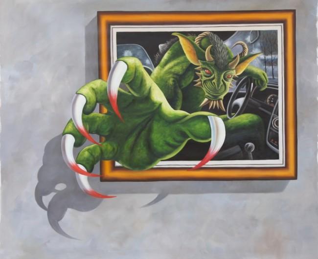 【jpg】3d手绘油画装饰画