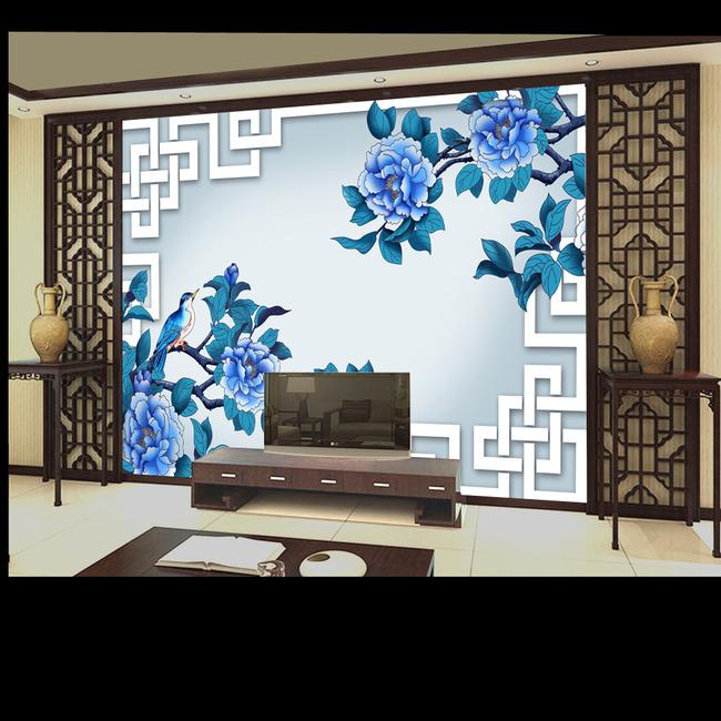 古典风格 中国风 简约 简洁 淡雅 兰花 诗词 高雅 高贵 浪漫 时尚