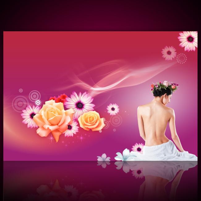 美容美体spa_【PSD】美容美体SPA会所展板设计模板源文件下载_图片编号 ...