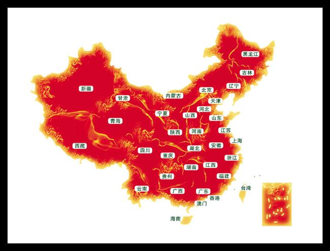 中国地图下载 矢量中国地图