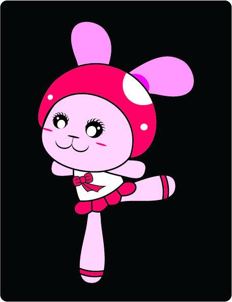 主页 原创专区 插画|素材|元素 卡通形象 > 俏皮可爱兔子 卡通形象 图