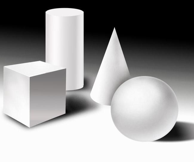 其他模型 > 几何图形  关键词: 长方形 长方体 圆形 园柱 素描 几何