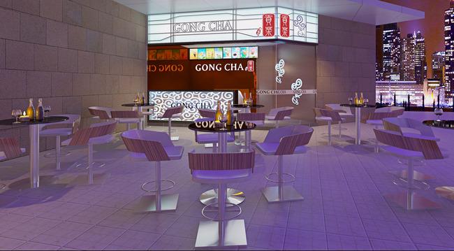 奶茶店高清图片 休闲椅