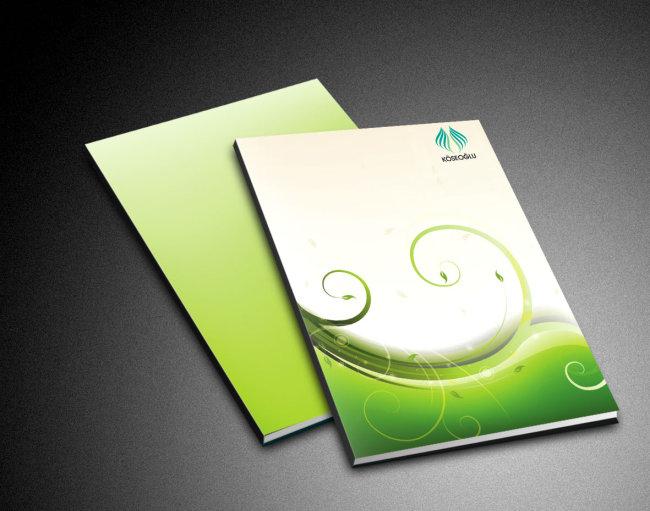 【ai】医院画册封面设计模板