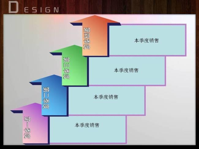 【ppt】季度销售表格ppt模板