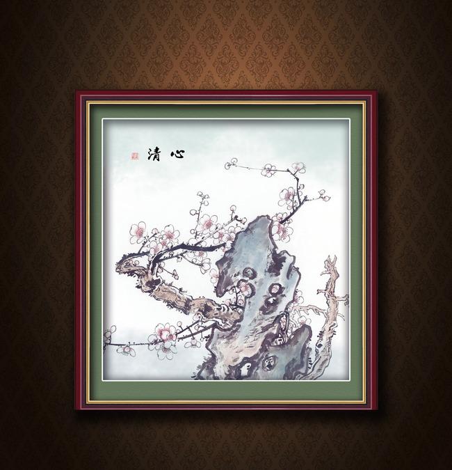 主页 原创专区 室内装饰|无框画|移门 山水风景画 > 国画山石之古画