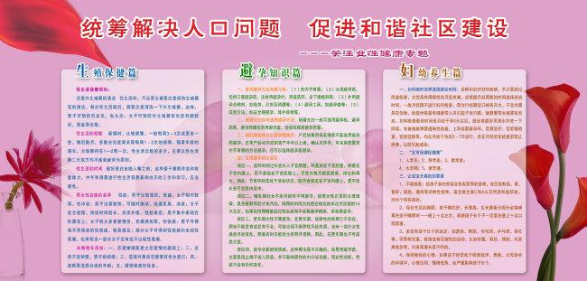 医院广告 医院宣传 医院展板设计 妇科 妇科医疗 妇科广告 展板 宣传