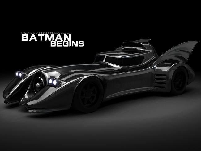 【】蝙蝠侠战车3d模型