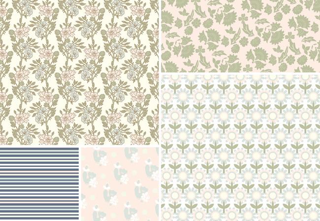 底纹 陶瓷花纹 地毯花纹 纺织花纹 欧式花纹 传统花纹 简洁花纹 布料