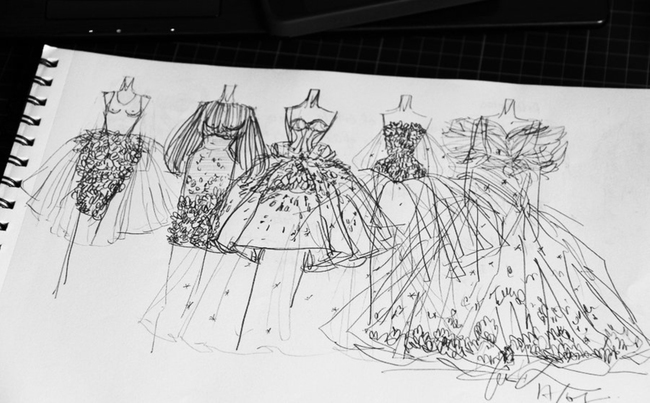 【jpg】婚紗設計手稿
