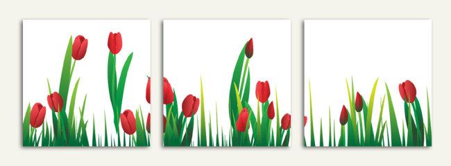 室内设计 墙画 素材 花纹 抽象画 精美 浪漫 梦幻 田园 中国风 花卉