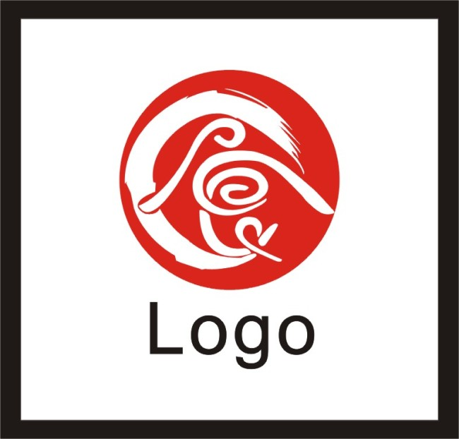 【cdr】美食街logo设计
