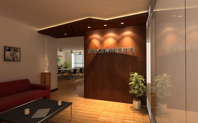 【max】室内设计形象墙三维模型