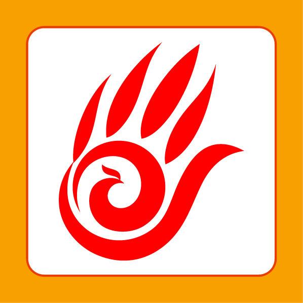 关键词: 凤凰标志 舞蹈标志 旅游标志 手掌标志 几何图形 科技标志