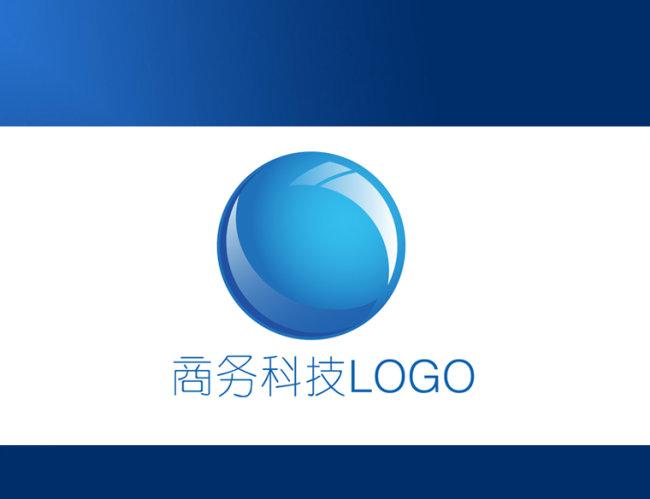 【ai】蓝色图形 科技标志设计