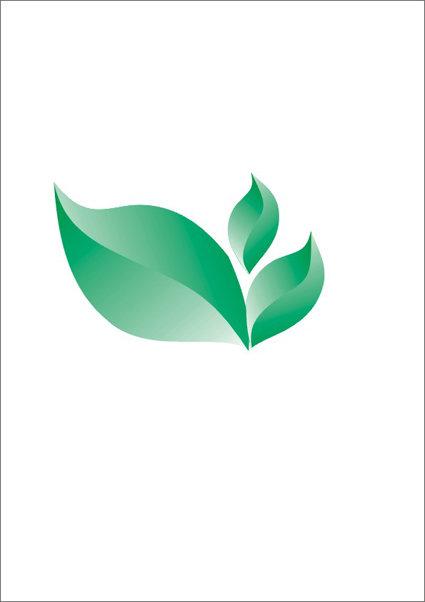 > 绿色三叶草  关键词: 绿色三叶草 叶子 绿叶 青色 矢量图 标志 商标