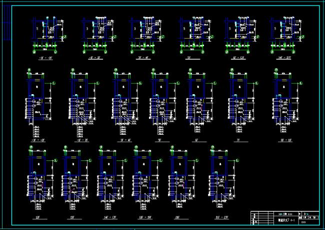 寓给排水施工图CAD图纸图片