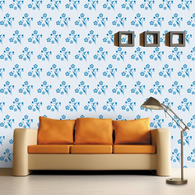 边框 背景素材 客厅 沙发背景 墙贴 壁画 温馨浪漫 时尚现代 纯纸壁纸