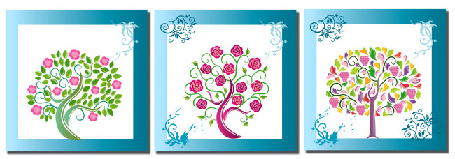 无框画 > 时尚果树无框画  关键词: 树 果树 绿树 小树 树木 装饰画