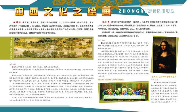 主页 原创专区 展板设计模板|x展架 学校展板设计 > 中国文化之绘画