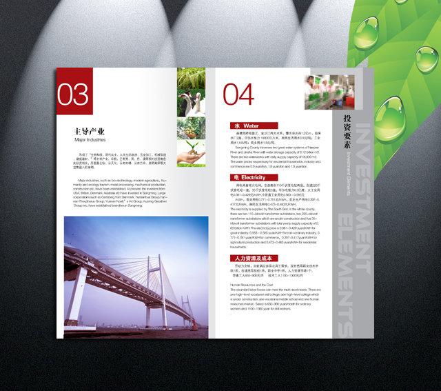 【psd】招商画册设计 内页版式设计 psd
