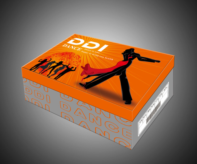 设计模板 生活用品包装 > 舞蹈鞋包装盒(展开图)  关键词: 舞蹈 鞋盒