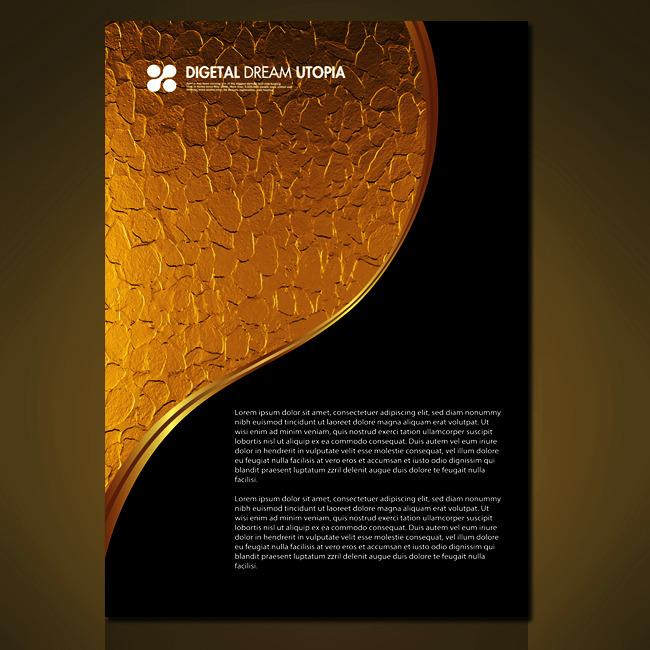 主页 原创专区 海报设计|宣传广告设计 海报背景图(半成品) > 黑金色