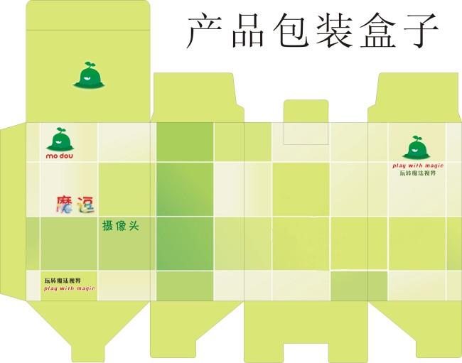 【cdr】产品包装平面图设计