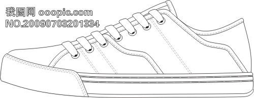 【cdr】个性漂亮的休闲鞋子