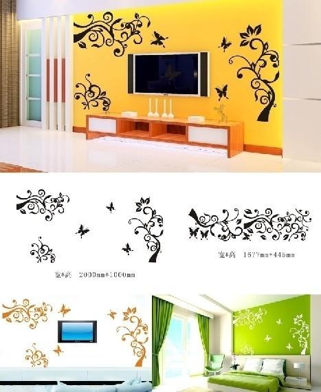 【cdr】艺术刻墙雕刻花边电视背景墙贴