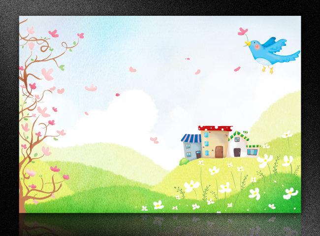 【psd】学校展板 幼儿园展板 教育展板 展板设计